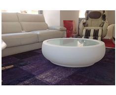 Mesa con Luz Redonda / cubitera + jardinera + mesa - Selección 24 Horas
