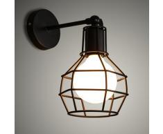 KOONTING Apliques de Pared Lámpara de Pared Lámpara Adecuado para Dormitorio, Sala, comedor, sala de estudio, baño, pasillo, etc