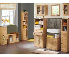 Diseño de estilo de vida 973144 armario Ida, 50 x 20 x 60 cm, madera de pino, barnizada y encerada