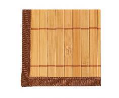 Kela, salvamanteles de bambú, marrón claro, 45 x 30 cm