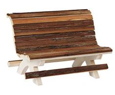 Banco de madera para hámster Nature 18 x 11 x 12 cm