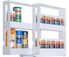 UPP – Especiero extensible – Estante universal/Almacenamiento/Sistema de orden/Armario de cocina/estantería para medicamentos