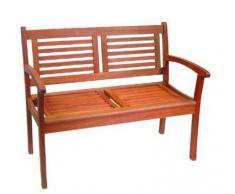 Banco de madera cm kerwing. 116x62 h. 90a
