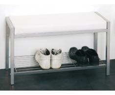 Haku-Möbel 90350 - Banco esquinero de cocina, color aluminio / blanco