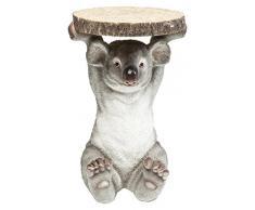 Kare Design Mesa Animal Koala, Madera, Gris, 52 x 35 x 35 cm