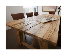 Mesa de comedor de madera maciza de sales Fever - THOR estructura de A-form de roble H 78 x T B 260 x 110 cm