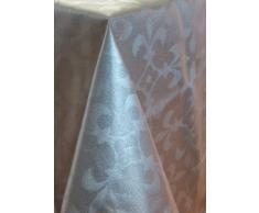 Mantel antimanchas Lys REVERSIBLE 50%algodón 50%poliéster con protección de resina y Teflón de Dupont(R) - 100X160 - Beige-Visón