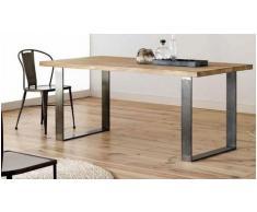 Mesa de comedor OAK - Roble - 160 cm