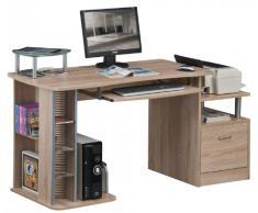 SixBros. Mesa de ordenador roble - S-202A/1845