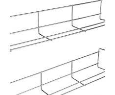 Bluelliant Especiero De Cocina Organizador para Especias Estanteria para Armario Almacenaje Estante De Pared (4 Niveles)