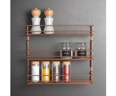Metaltex Pepito Copper - Especiero 3 Pisos, Color Cobre