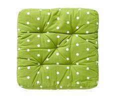 Cojín de asiento Leni (38 x 38, verde)