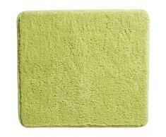 Alfombra de baño Uni de Luxe (45 x 50 cm, verde)
