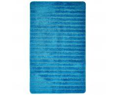 Alfombra de baño de microfibra Imperial (65 x 110 cm, petróleo)