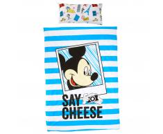 Ropa de cama infantil Mickey Say Cheese (150x220)