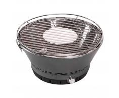 Barbacoa de carbón portátil (con función de encendido rápido)