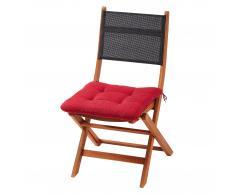 Sun Garden Cojín de asiento «Murcia» (rojo)