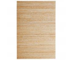Alfombra bambú (120x180, blanco)