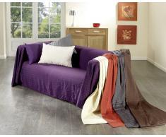 Cubre sofá (250 x 380 cm, marrón)