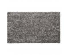 Alfombra de baño chenilla de lujo (65x110, gris claro)