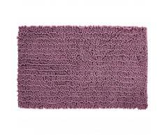 Alfombra de baño chenilla microfibra (65x110, rosa viejo)