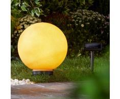 Lámpara solar (ø 30 cm, terracotta)