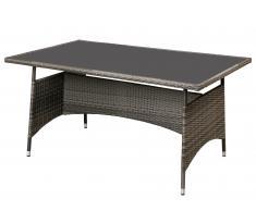 Mesa de jardín «Palermo» (gris)