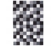 Alfombra Magic (120x180 cm, blanco/negro)