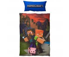 Ropa de cama infantil Minecraft (150x220)