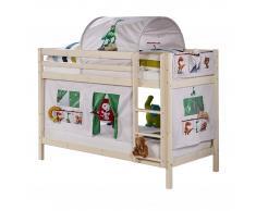 FLEXA Cama litera «Frieda» (lacado blanco)
