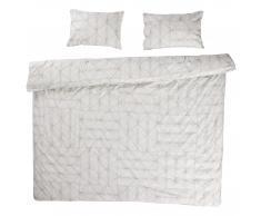 Ropa de cama en linón Pettern (240x220, gris)