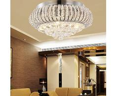 KJLARS Lámparas de cristal Lámpara del Techo Candelabro de cristal Luces de Techo