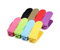 Ajustable Zapatos Stapler/Kit – Bajo Soporte para 8 pares de zapatos