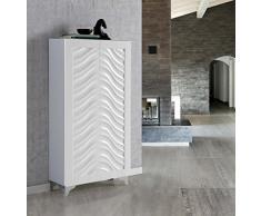 Zapateros de Diseño Moderno : Modelo MEDITERRANEO 74x136x37