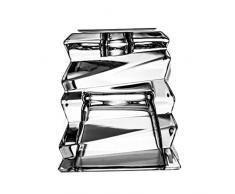 Cryst aljulia Candelabro Cristal 7 x 7 x 8 cm, transparente, 5401
