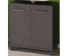 Escudo Meyer INSTERA armario (con ruedas) madera de fresno/madera de fresno/ancho: 598 mm/mueble