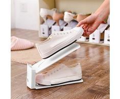 6 pc doble capa soporte ajustable de ranuras de zapatos zapatos de organizador almacenamiento zapatero innovador nieve hogar Simple accesorio de ahorro de espacio