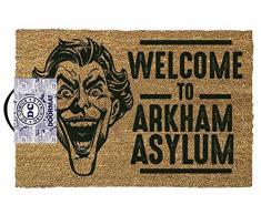 The Joker Welcome to Arkham Asylum Alfombra para puerta Standard
