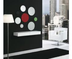 Tecnocubo Systems - Cajón / recibidor lois, medidas 110 x 30 x 12 cm, color blanco