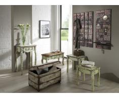 Haku Möbel 89918 - Perchero de pared (70 x 9 x 100 cm), color morado