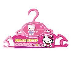 Lote de 3 perchas, diseño de Hello Kitty