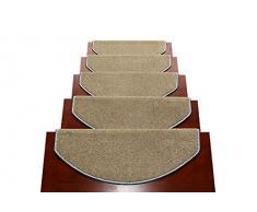Alfombra de la escalera libre adhesivo autoadhesivo antideslizante llanura de madera sólida paso pad1 bloque ( Tamaño : 80*24cm )