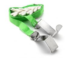 SODIAL(R) Durante correas suspension de puerta ajustable Gorra Bolsa Ropa Perchero Organizador Ganchos - Verde