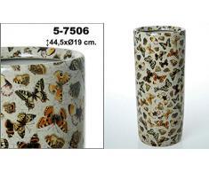 DonRegaloWeb - Paragüero de cerámica decorado con mariposas