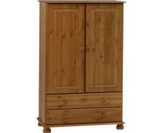 Steens Richmond Combi armario ropero de madera, marrón, 2