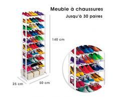 Shop Story – Mueble organizador Zapatero 25/30 pares - Estante Armario