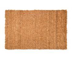 fabahome – Felpudo (Felpudo kokosvelour Natural con base de PVC, fibra de coco Felpudo (Estera de coco, muy robusta, resistente a la intemperie, Felpudo, naturaleza, 40 x 60 cm