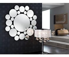 SCHULLER - Espejos modernos de cristal: Modelo LEILA Redondo