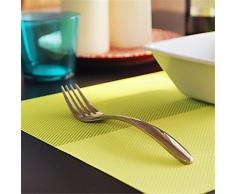 FLYRCX Estilo europeo con aislamiento de PVC antideslizante impermeable tapete lavable 4,E