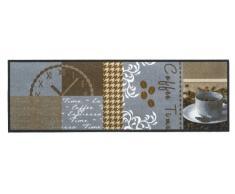 BSM 2000 Alfombra de Cocina, 150 x 50 cm, atrapa Suciedad, Lavable 30 °Grados, Antideslizante, BUON Appetito